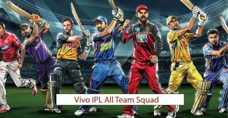 IPL All Team Squad
