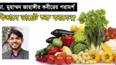 Dr Jahangir Kabir Diet
