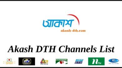 Akash Channel List