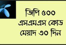 GP 500 SMS 30 days Code